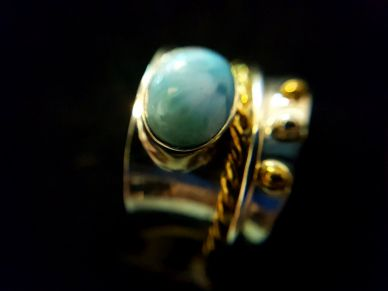 BG LARIMAR ARGT JONC ANTI STRESS BY MONICA